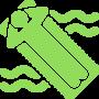 Бассейн с подогревом воды 5x8м/1.60м